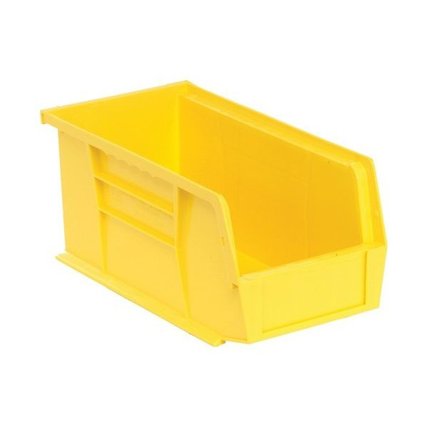 "Yellow Storage Bins (11""x5.5""x5""), 12 per case - M"