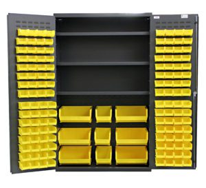 Flush Door Bin & Shelf Cabinets