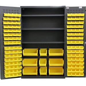 Flush Door Bin & Shelf Cabinets