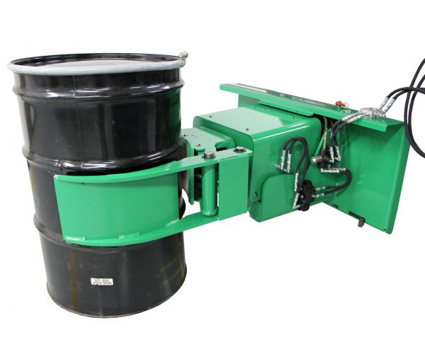 Skid Steer Hydraulic Drum Attachment