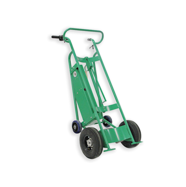 f89484-powered-hand-truck-pneumatic-wheels-upright